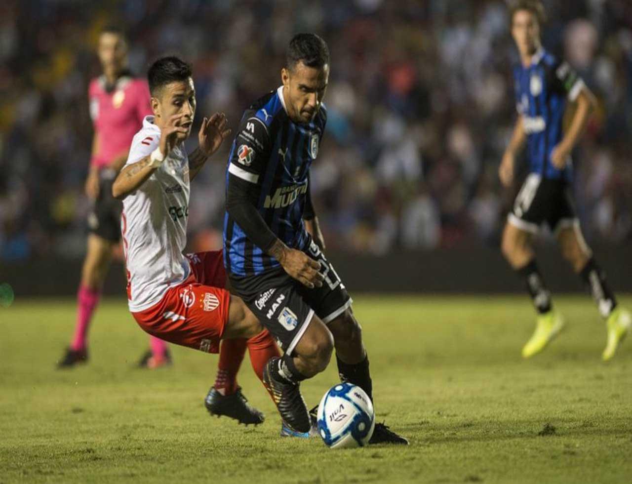 Necaxa vs Querétaro Liga MX en vivo y en directo Cuartos de Final Ida Apertura 2019