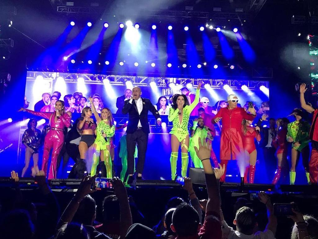 90s Pop Tour: OV7 suspendió show por problema en el equipo de sonido