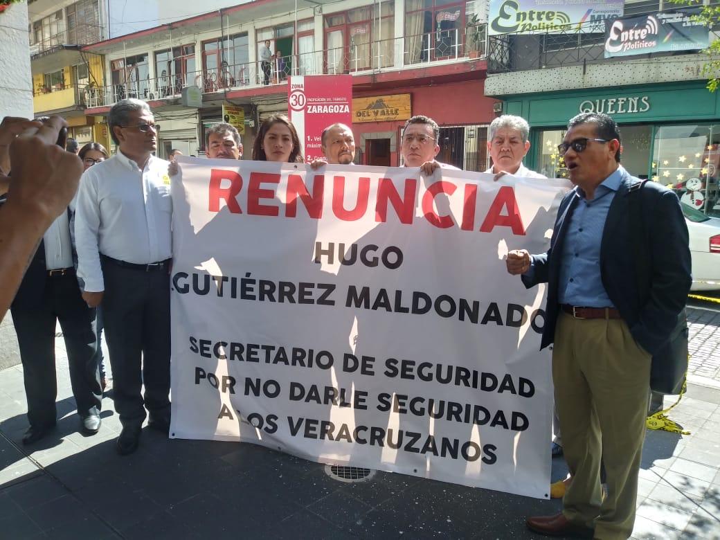 Exige PRD renuncia de Hugo Gutiérrez tras asesinato de exalcalde de Paso del Macho