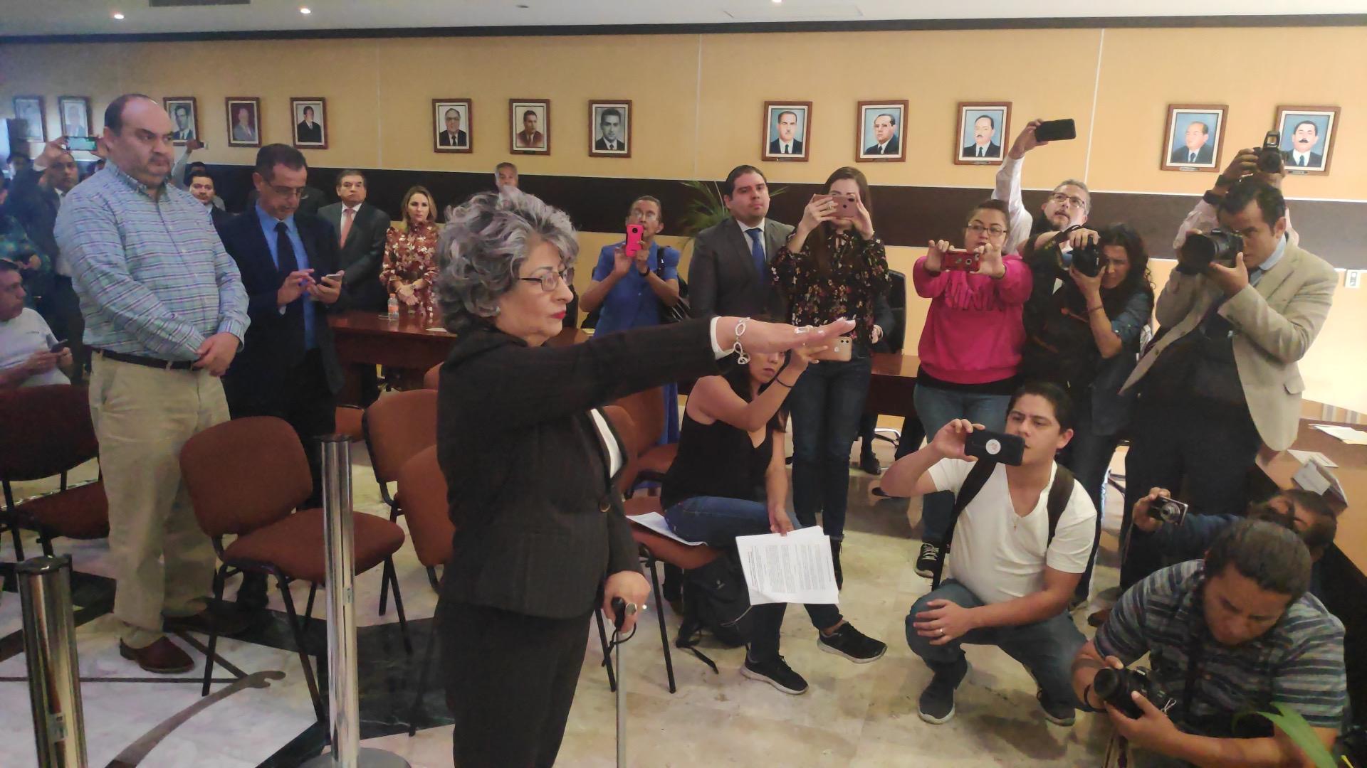 Dedazo en el Poder Judicial, votan por la magistrada Sofía Martínez Huerta