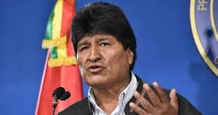 Emiten orden de aprehensión en contra Evo Morales.