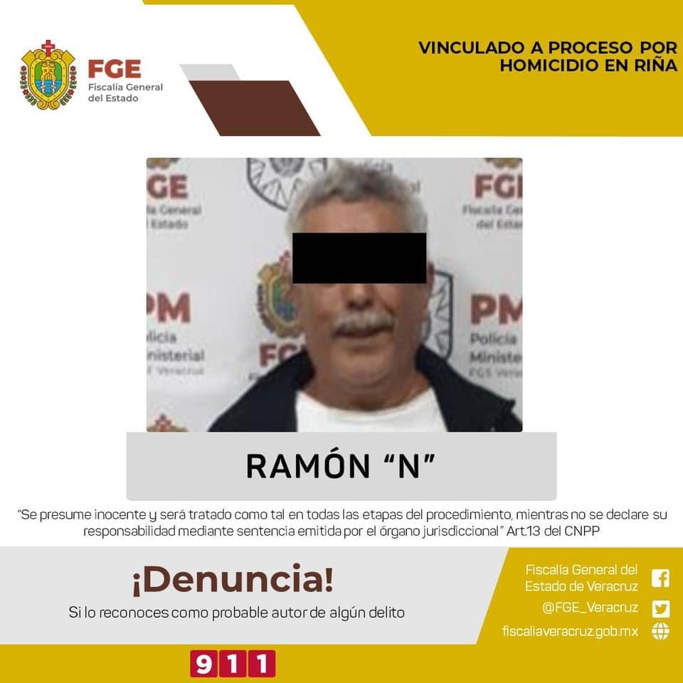 """Don Ramón """"N"""" llevará su proceso en libertad."""