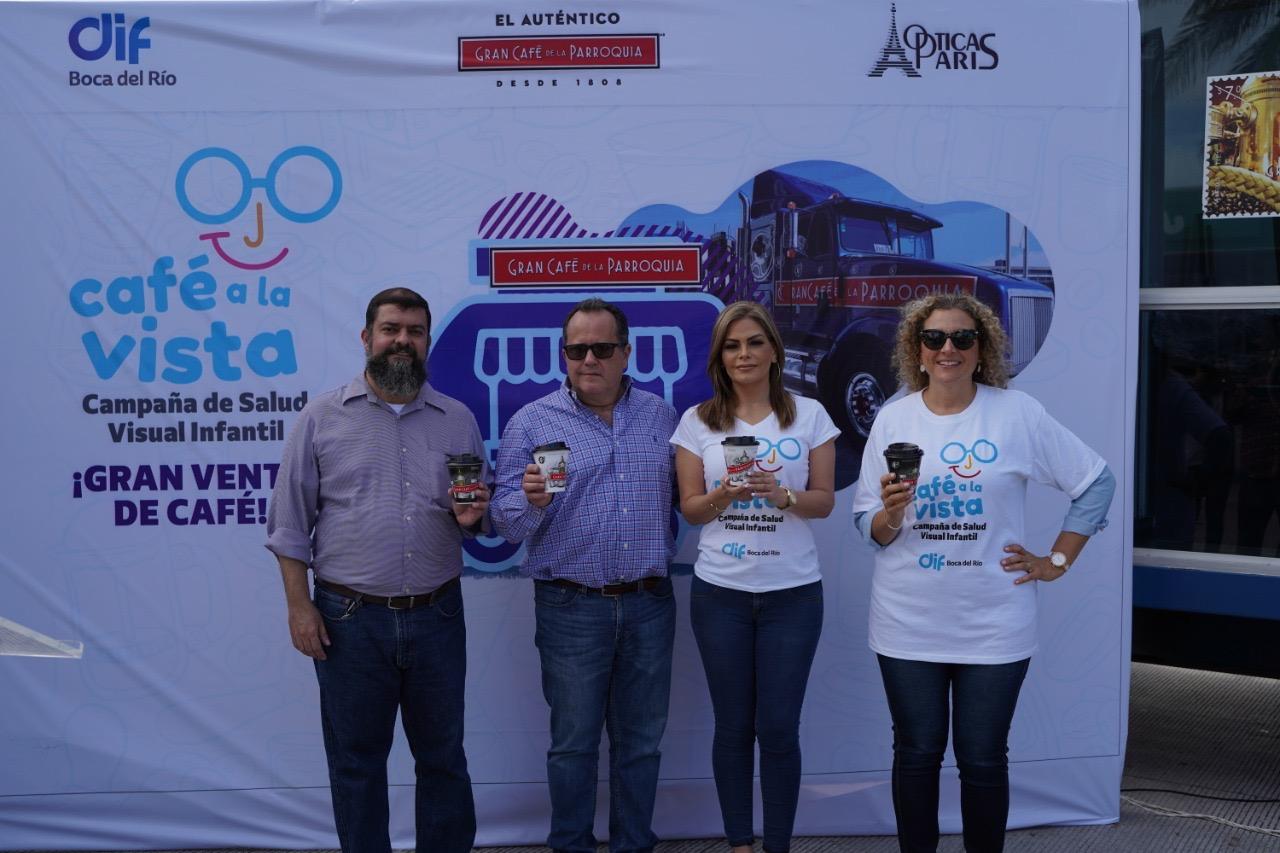 """Inicia DIF de Boca del Río la Segunda Venta de """"Café a la Vista"""""""