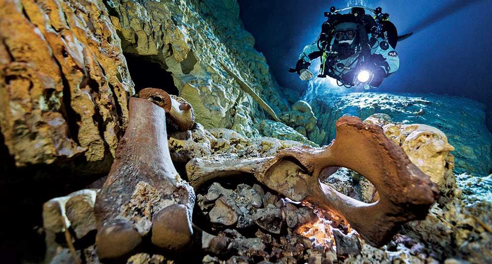 La fascinante historia de Naia, el esqueleto hallado en un cenote mexicano