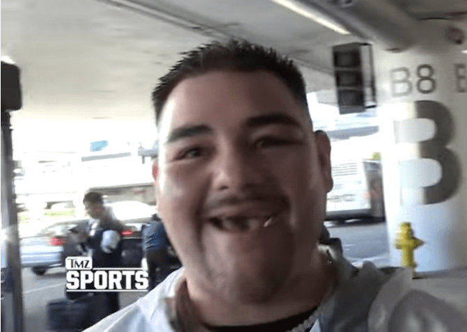 Así luce Andy Ruiz, con 13 millones de dólares en su cuenta de banco después de la pelea con Joshua
