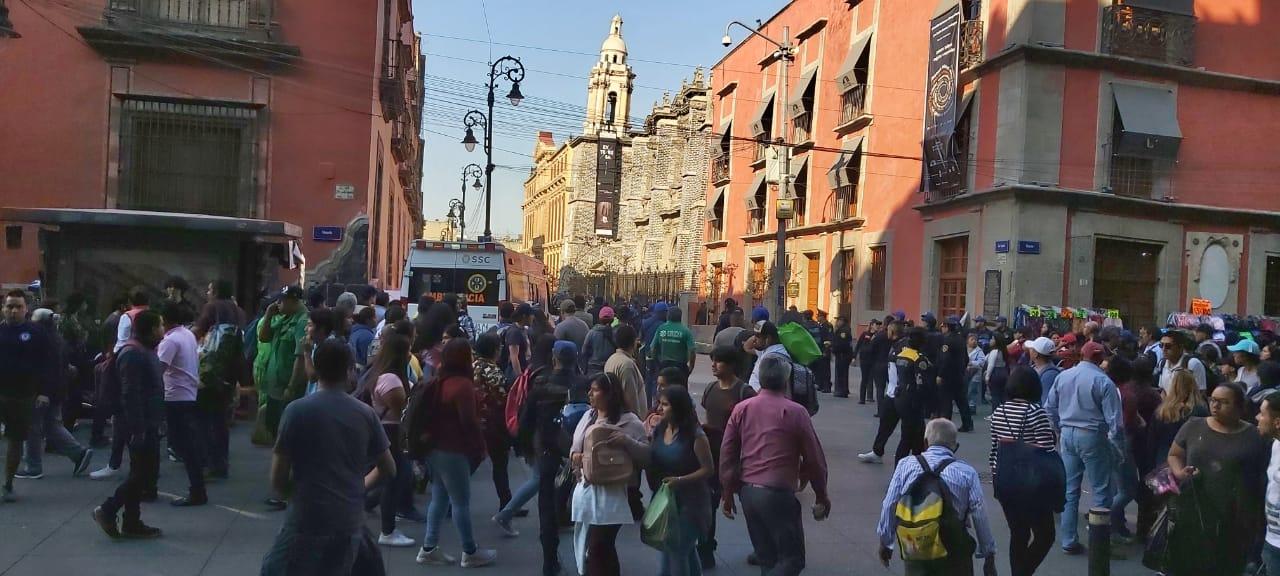 Balacera en el Centro Histórico de la Ciudad de México deja 4 muertos; identifican a agresor