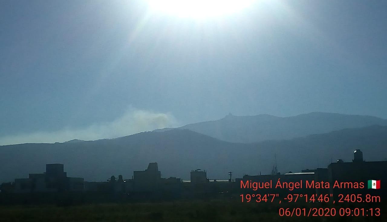 Controlado incendio en Tembladeras, pero hay otro cerca: Conafor