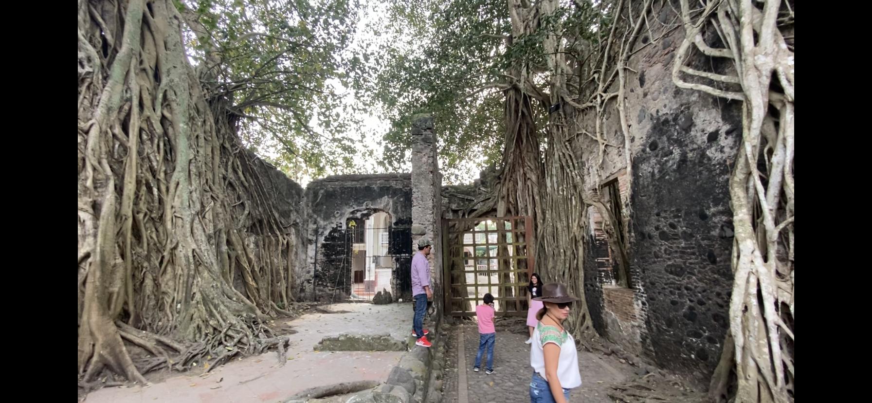 Recorrido por La Antigua, la casa de Hernán Cortés.