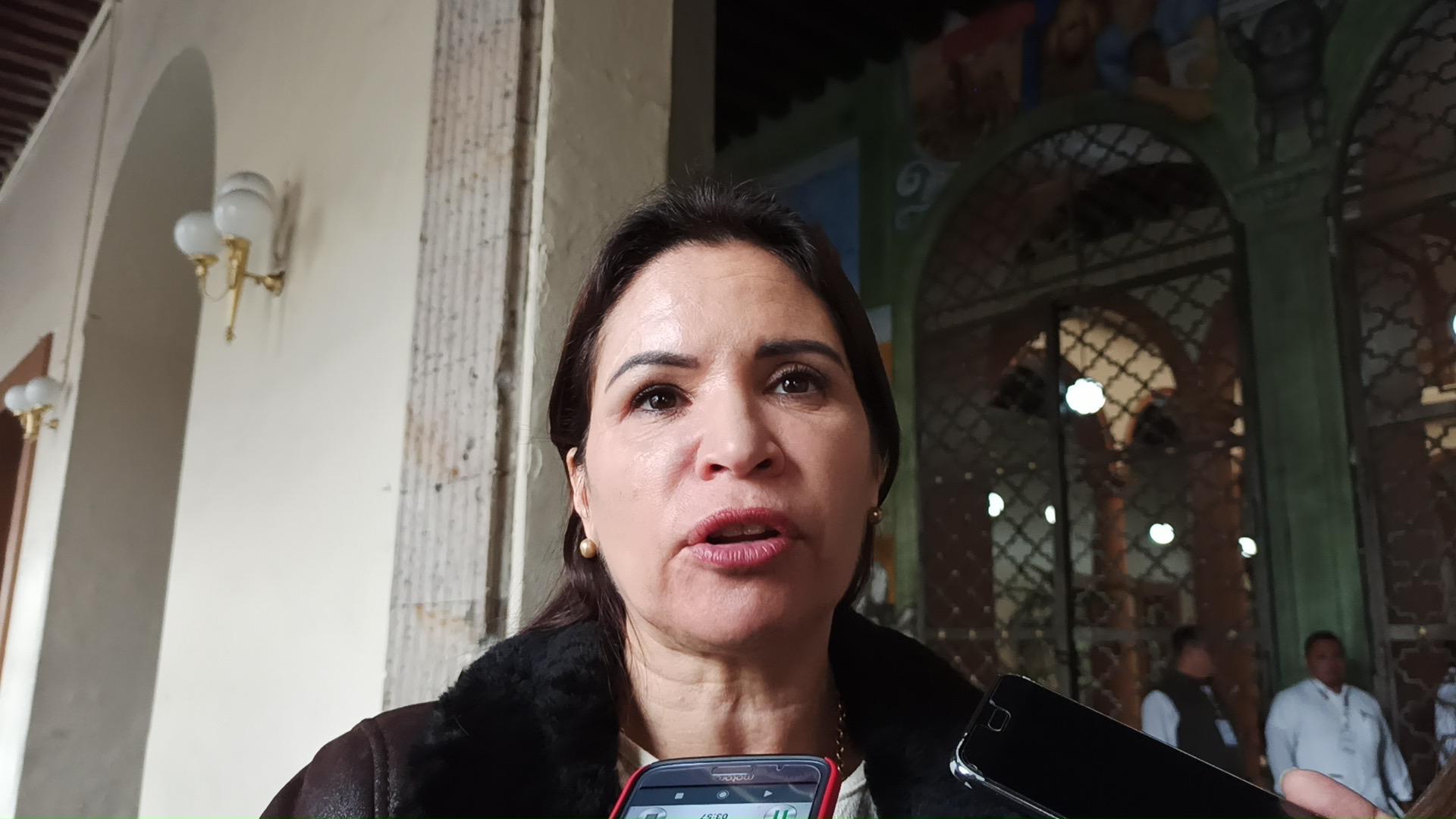 Mónica Robles no teme la fuerza de la Iglesia Católica por sus iniciativas