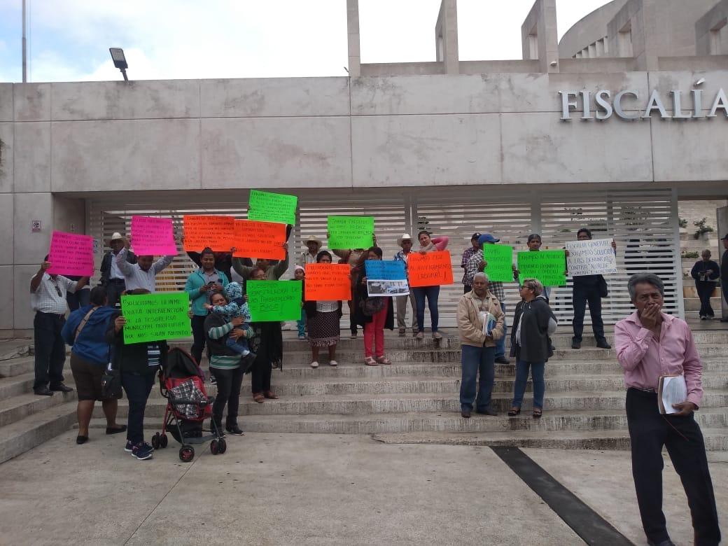 Habitantes de Jamapa piden a FGE proceder contra alcaldesa