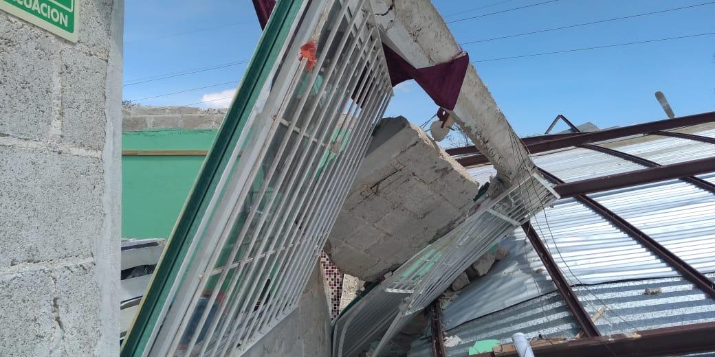 Afectaciones en 8 municipios por FF41; no hay pérdida de vidas humanas, por fortuna