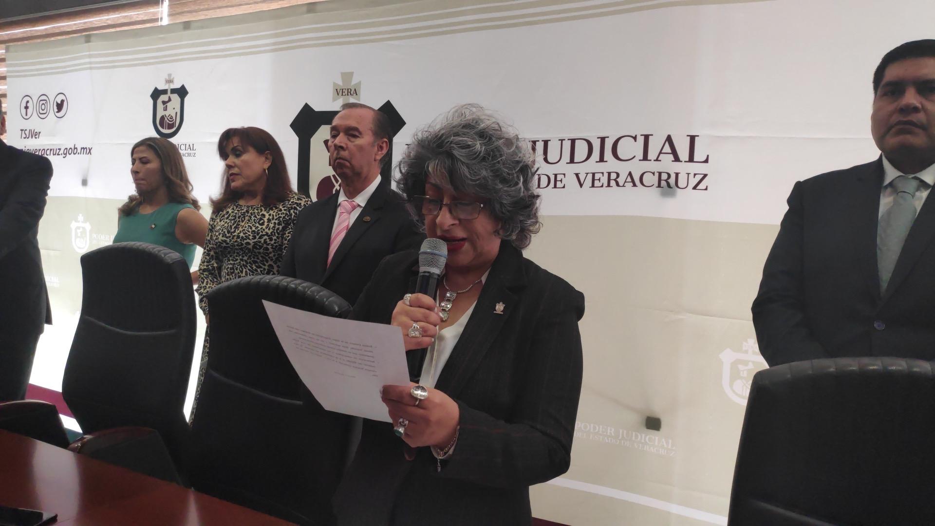 """Poder Judicial """"muy denostado"""" por faltas administrativas, admite Presidenta"""