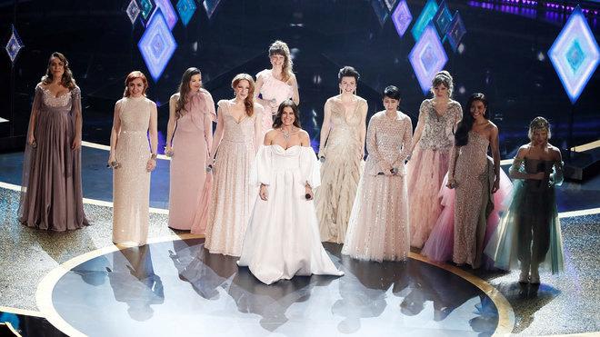 Carmen Sarahí, la mexicana que interpretó el tema de Frozen 2 en los Óscar 2020