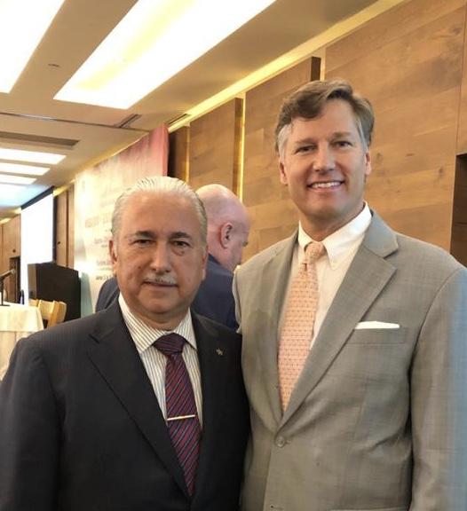 Positiva la reunión del embajador de EU con industriales mexicanos: Urreta