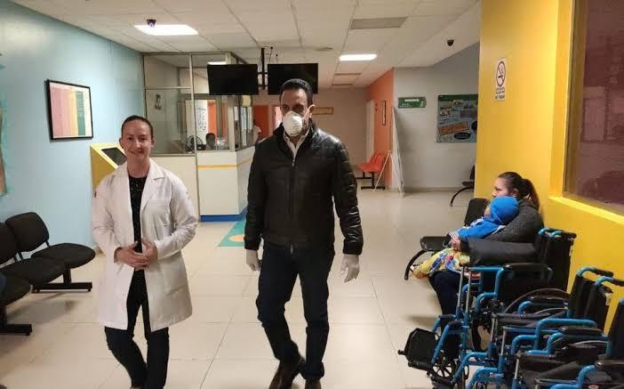 Gobernador de Hidalgo, Omar Fayad, tiene Coronavirus, se reunió con AMLO.