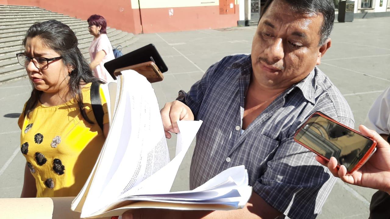 Docentes de más de 24 años de servicio inician huelga de hambre por suspensión de quincenas