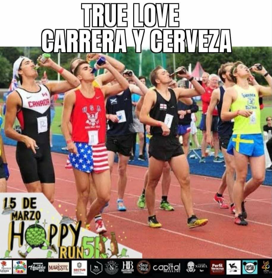 Carrera Hoppy Run Xalapa, hidratará con chelas