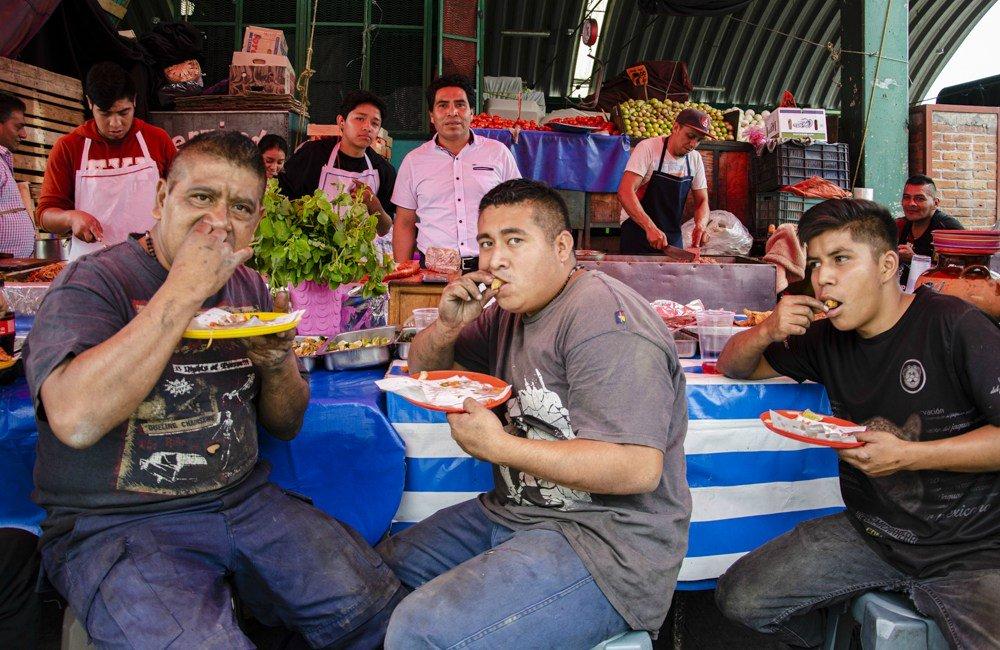 Festival Gastronómico (Central de Abasto)