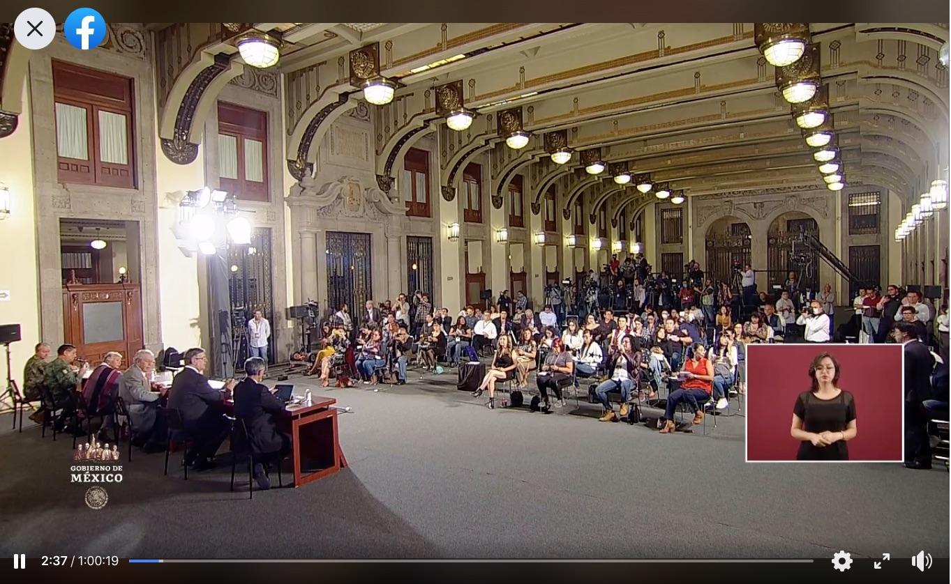 ConferenciaDePrensa: #Coronavirus #COVID19