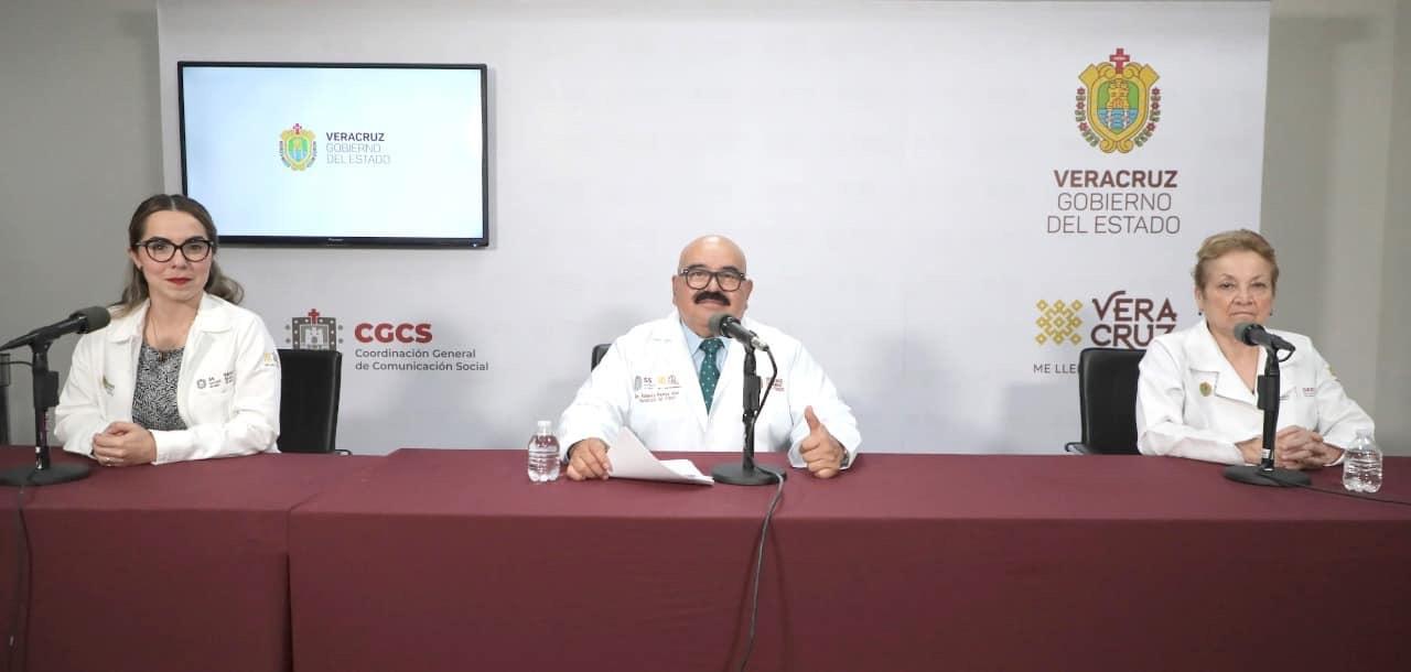 Veracruz sigue con 7 casos de Coronavirus y 32 casos sospechosos