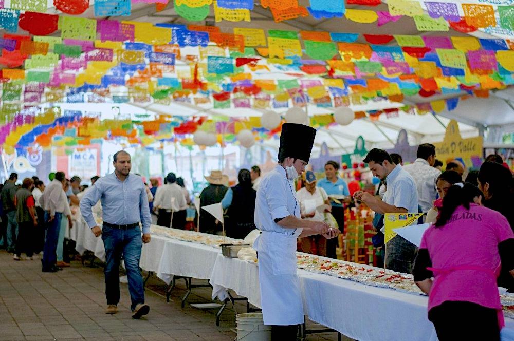 Feria de la enchilada (Iztapalapa)