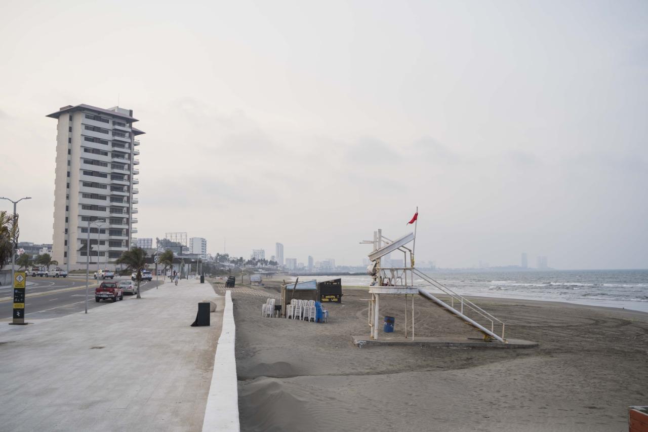 Playas de Boca del Río se mantendrán cerradas por Covid-19