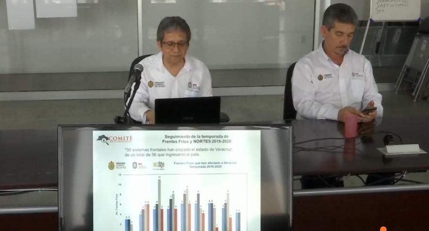 Se esperan 18 ciclones tropicales en la próxima temporada, aún no se define si podrían afectar a Veracruz: SPC