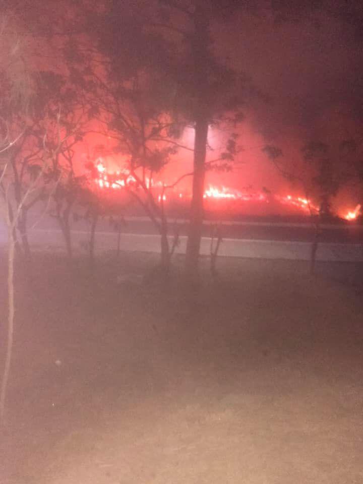 Incendio en Laguna de Lagartos fue provocado por vecinos, que ahuyentaban moscos.