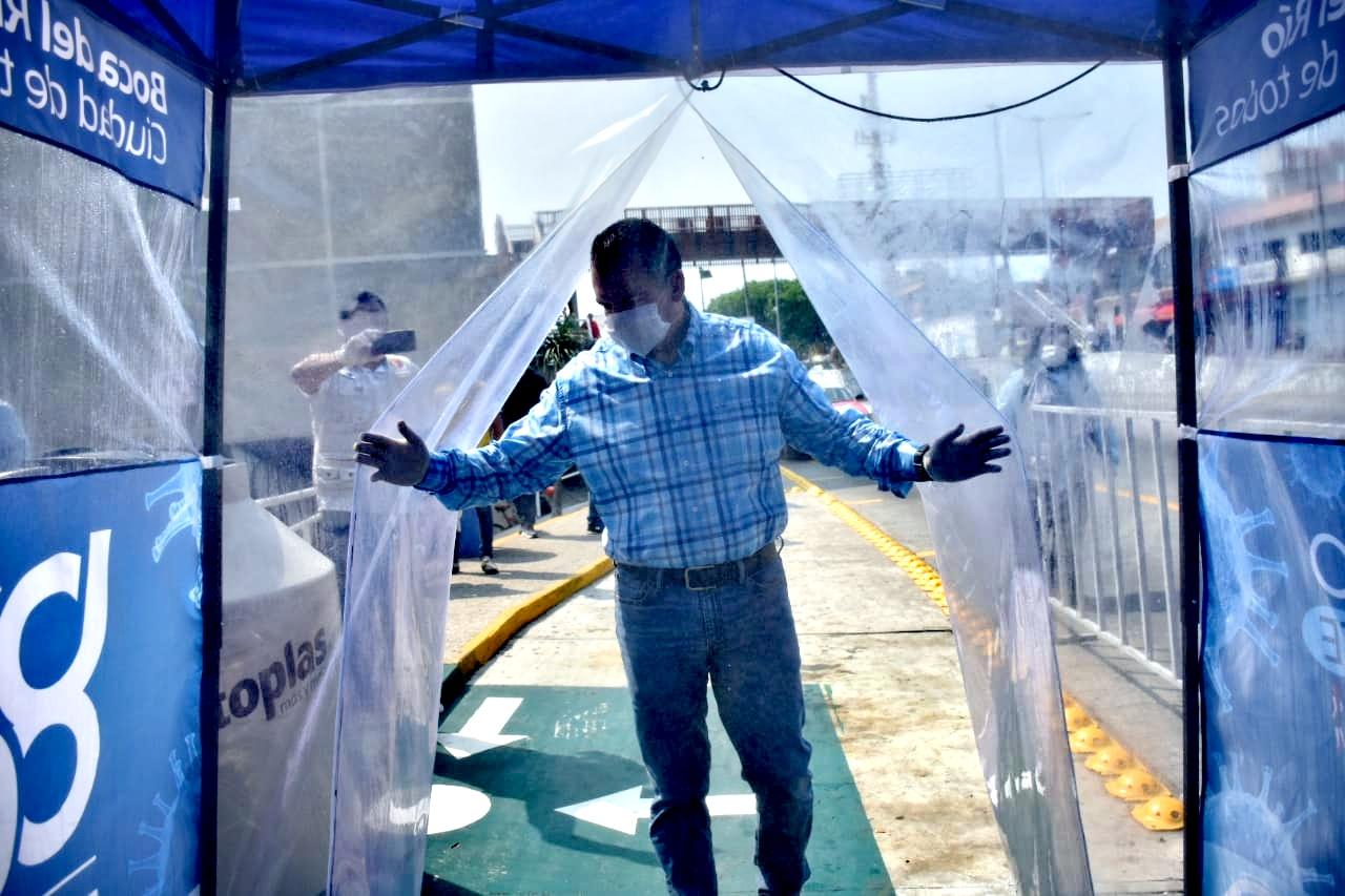 Retira Boca del Río Módulos de Sanitización