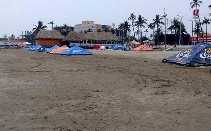 Ocupación hotelera en Veracruz de Semana Santa fue del 5 por ciento.