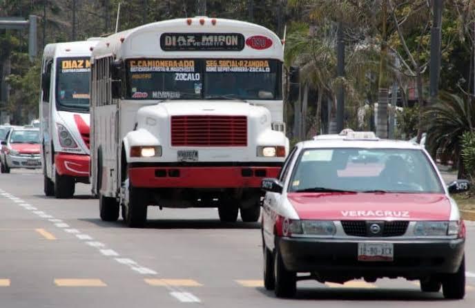 Detenido el 40 por ciento del transporte en el Estado.
