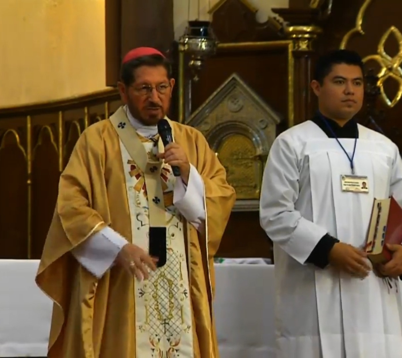 Crece la violencia, en nuestro estado sigue muy viva:  Arzobispo