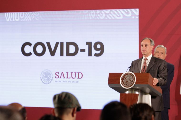 Aumenta número de casos confirmados de coronavirus en México a 2143