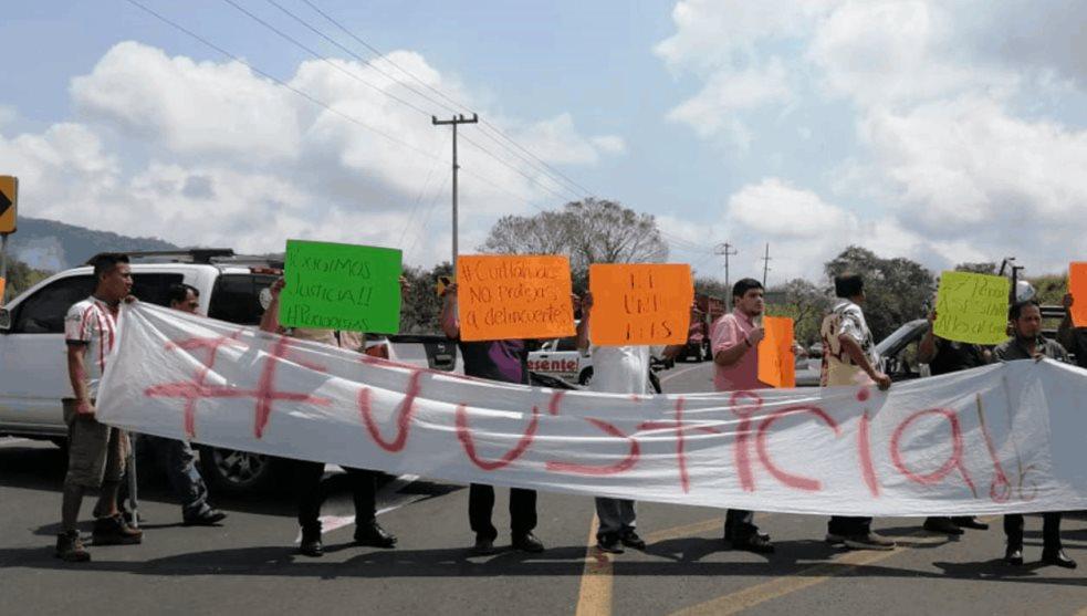 Periodistas de la zona norte del estado se manifiestan y piden se esclarezca asesinato de Maria Elena Ferral