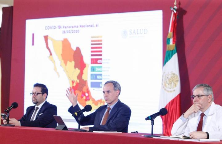 #ConferenciaDePrensa: #Coronavirus #COVID19 #QuédateEnCasaYa   5 de abril de 2020