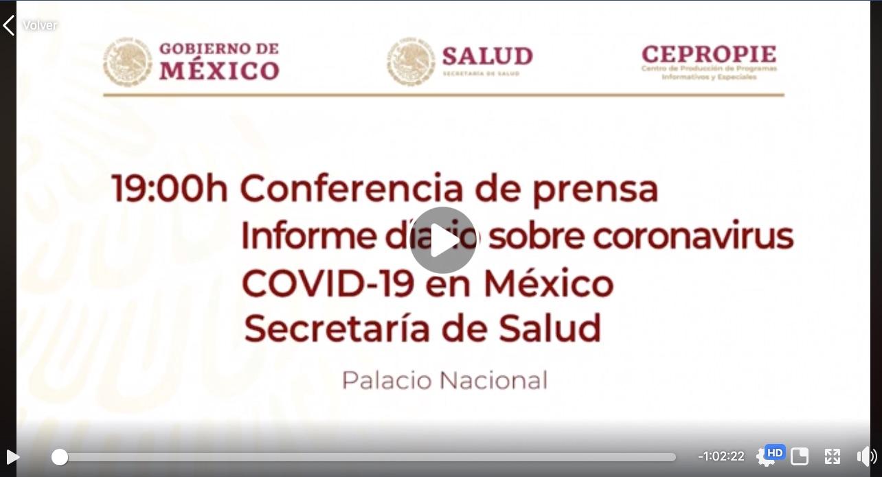Gobierno de México #ConferenciaDePrensa: #Coronavirus #COVID19 #QuédateEnCasa | 9 de abril de 2020