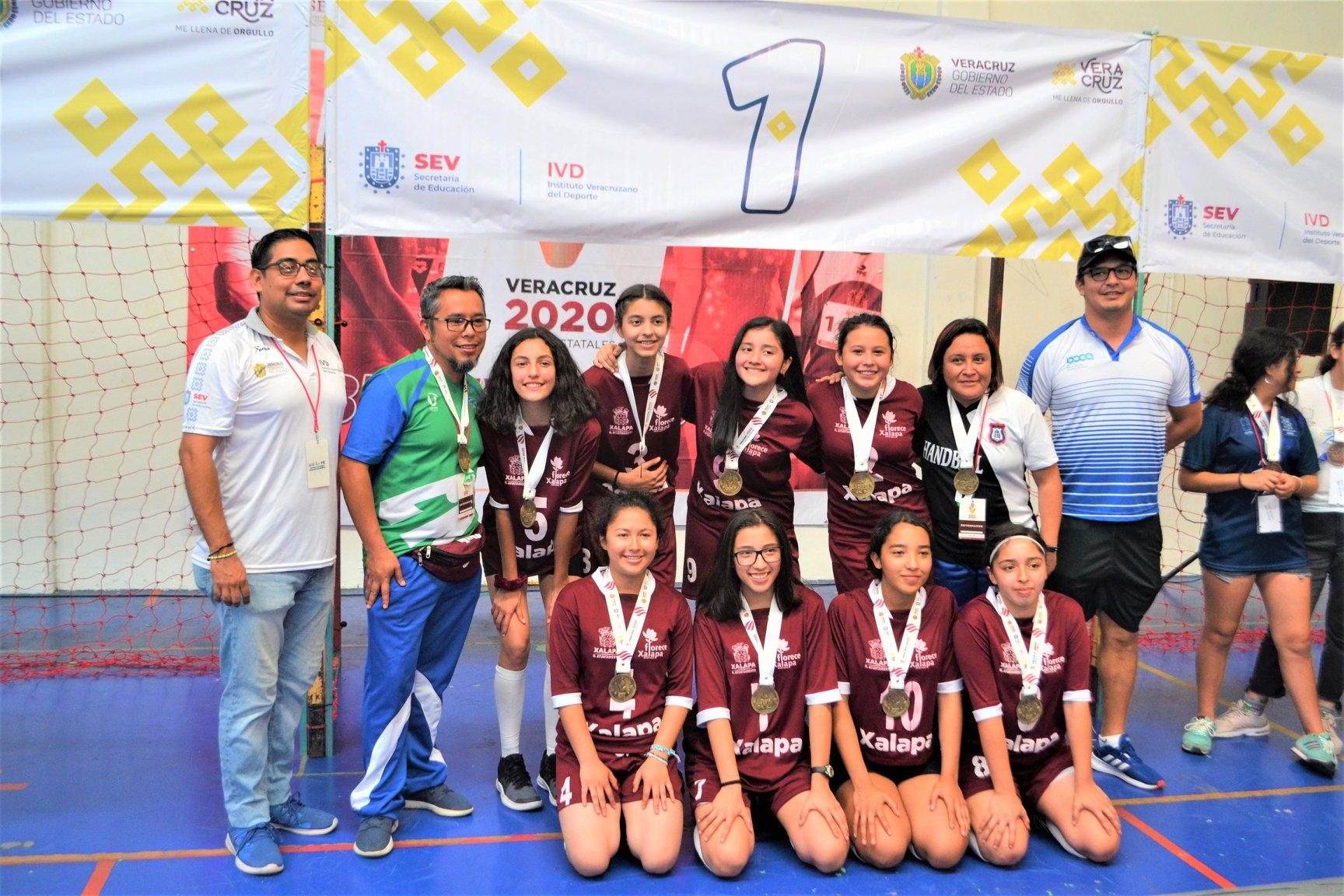 Xalapa campeón de los Juegos Estatales Veracruz 2020