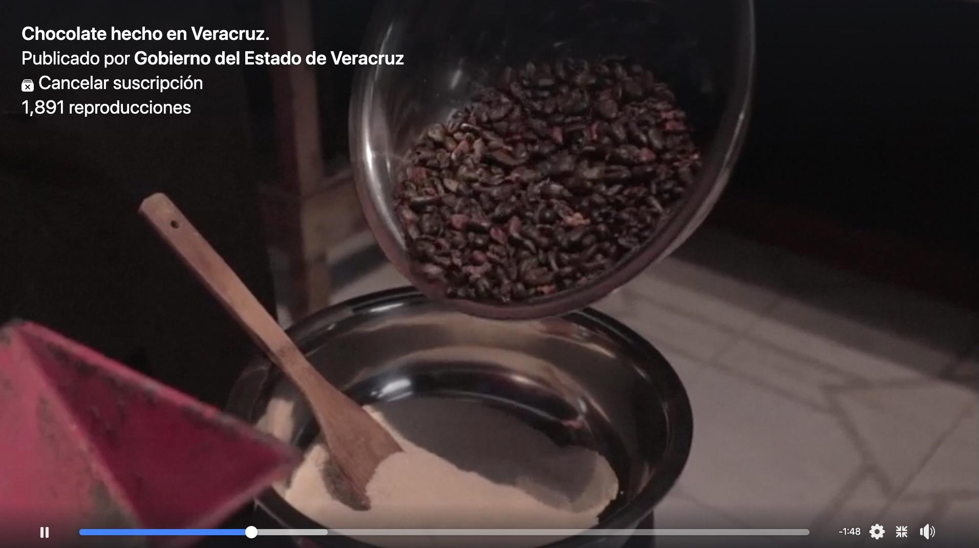 Chocolate casero hecho en Veracruz