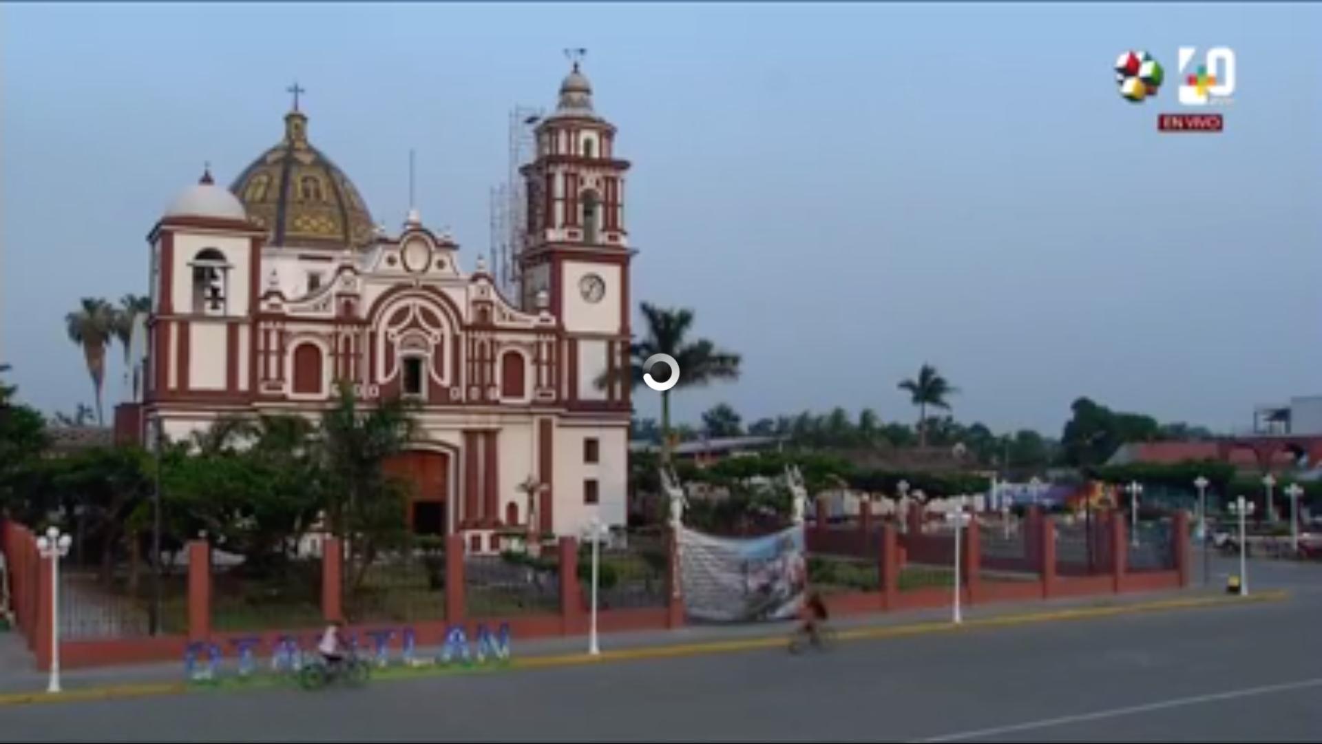 Misa de la Santa Cruz desde el Santuario del Cristo Negro en Otatitlán, Veracruz
