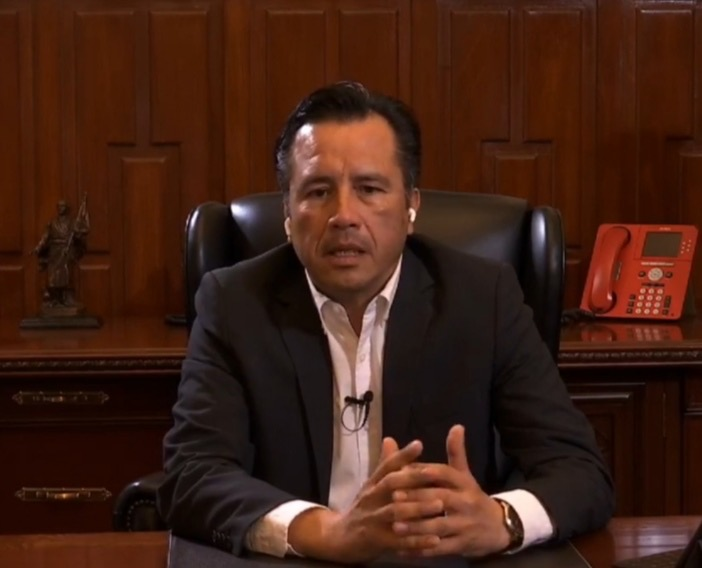 A partir de la segunda quincena de mayo el mayor número de contagios en Veracruz: Gobernador