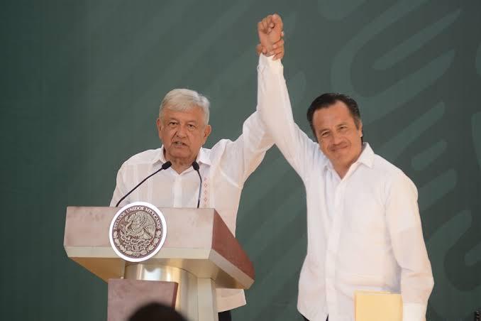Visita y mañanera del Presidente se transmitirá por RTV; Cuitláhuac pide que no haya aglomeraciones