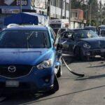 En el mismo sitio y en una sola mañana, dos accidentes en colonia de Puebla