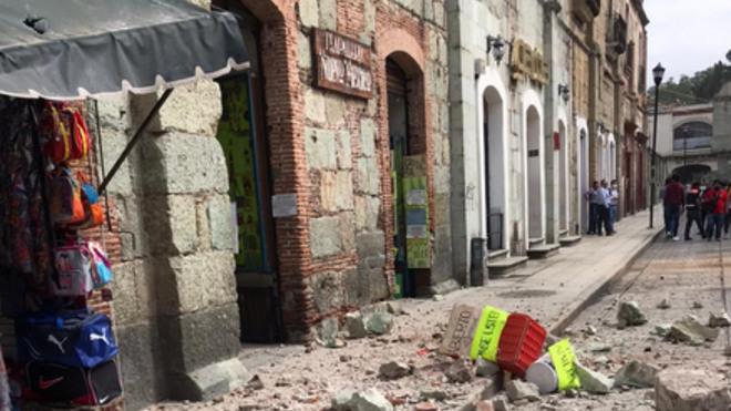 Muertes por sismo en México