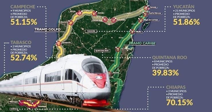Dan banderazo de inicio de obra del Tren Maya con Tramo 4 Izamal-Cancún