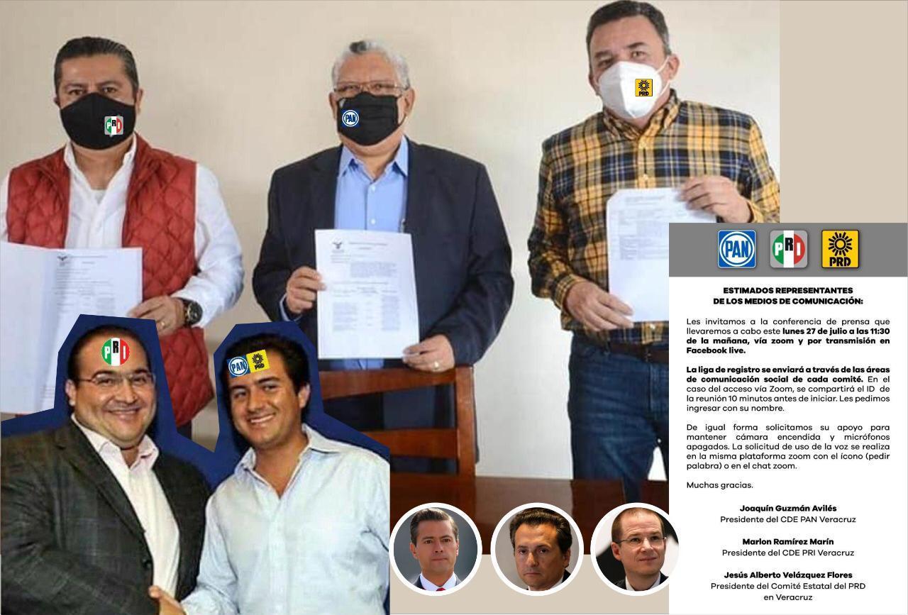 Dan patadas de ahogado PAN, PRI y PRD por reforma Electoral de Veracruz