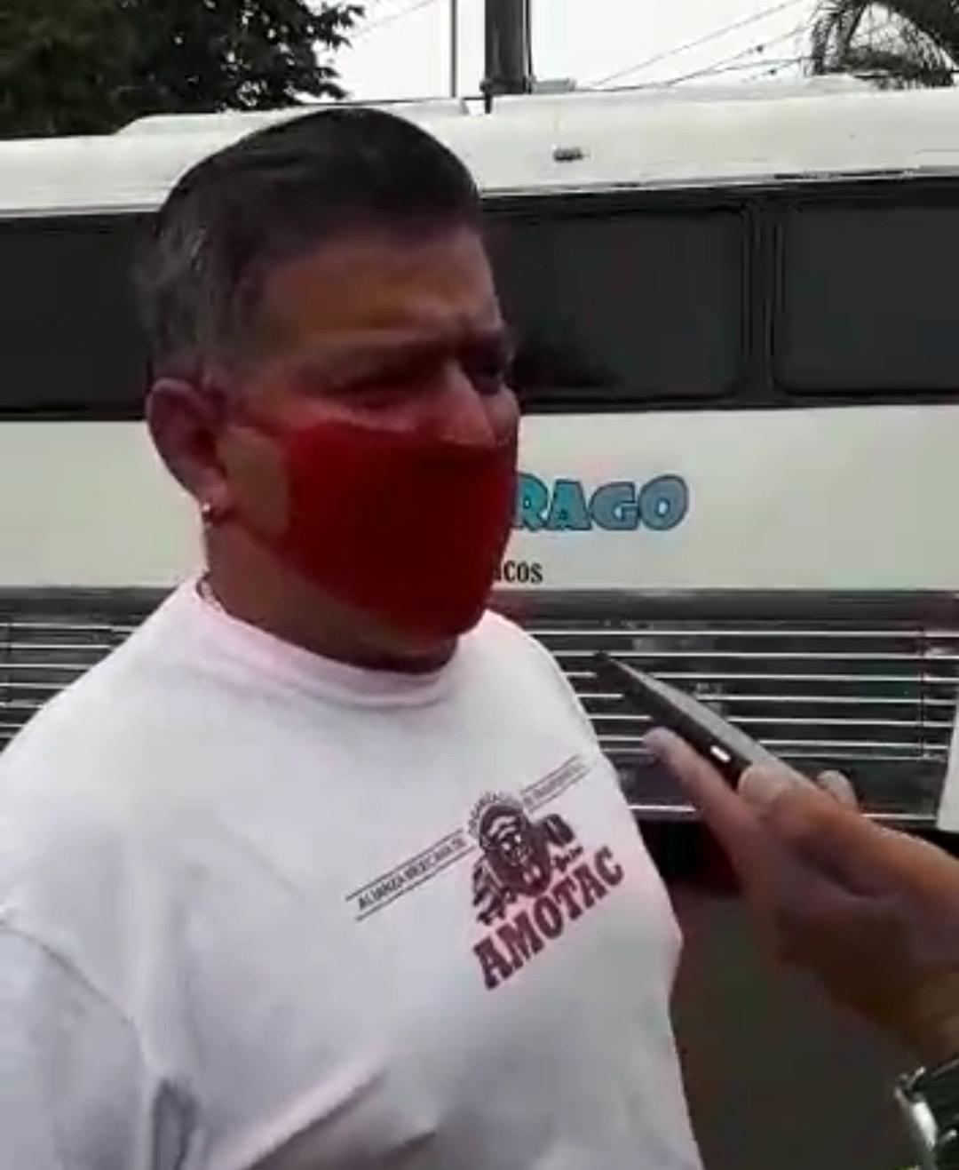 Denuncia integrante de Amotac que elementos de Tránsito piden hasta mil pesos para evitar multarlos