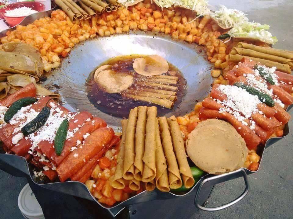 Los nutrientes de los Antojitos mexicanos