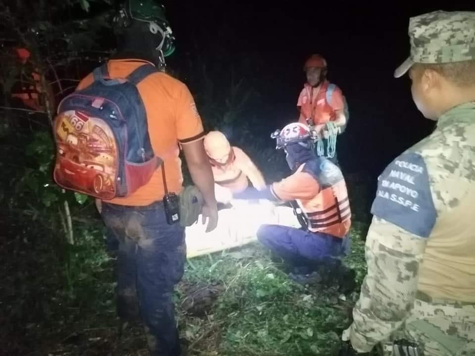Localizan cuerpo de la menor arrastrada por el rio, en San Marcos de León, Xico