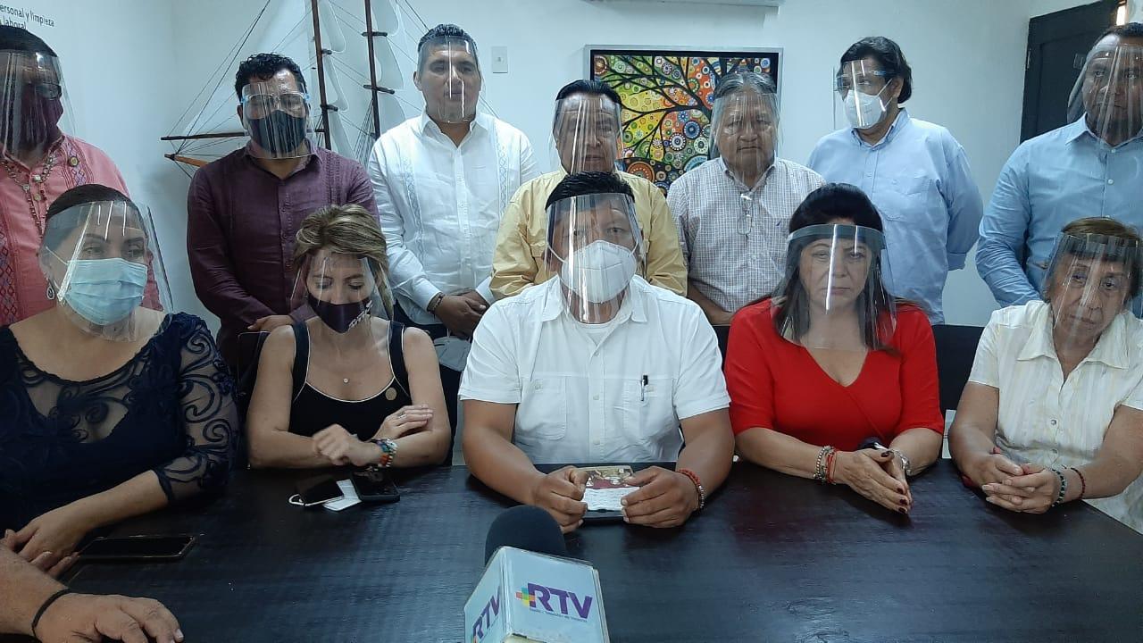 Diputados de Veracruz y súper delegado Manuel Huerta dan apoyo a Mario Delgado