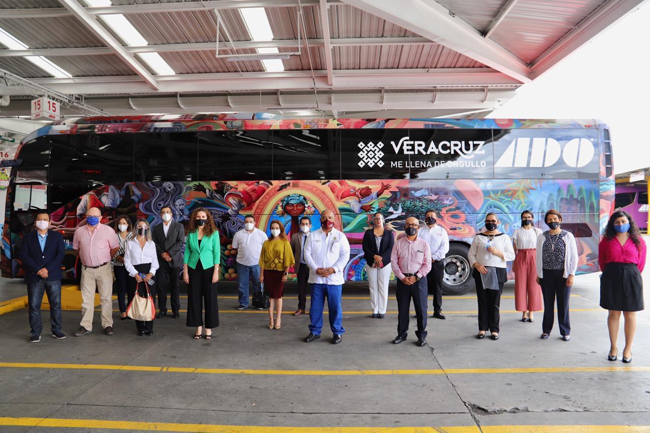 """Programa """"Orgullo Veracruzano"""" será promovido en terminales de ADO"""